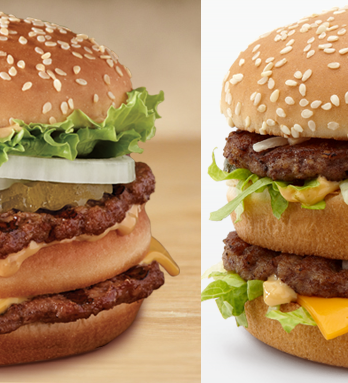 Burger King Resurrects Big Mac Clone, Complete With Third Bun