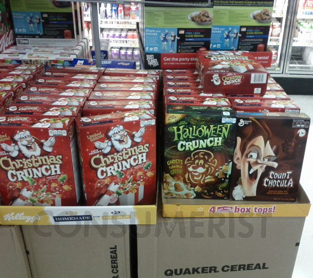 Walmart's Nightmare Before Christmas: Cereal Edition