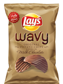 Lay's Takes The Work Out Of Dessert With New Chocolate-Covered Potato Chips