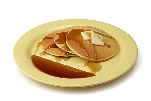 Maple-Hating Philistine Condemns Pancake Plate