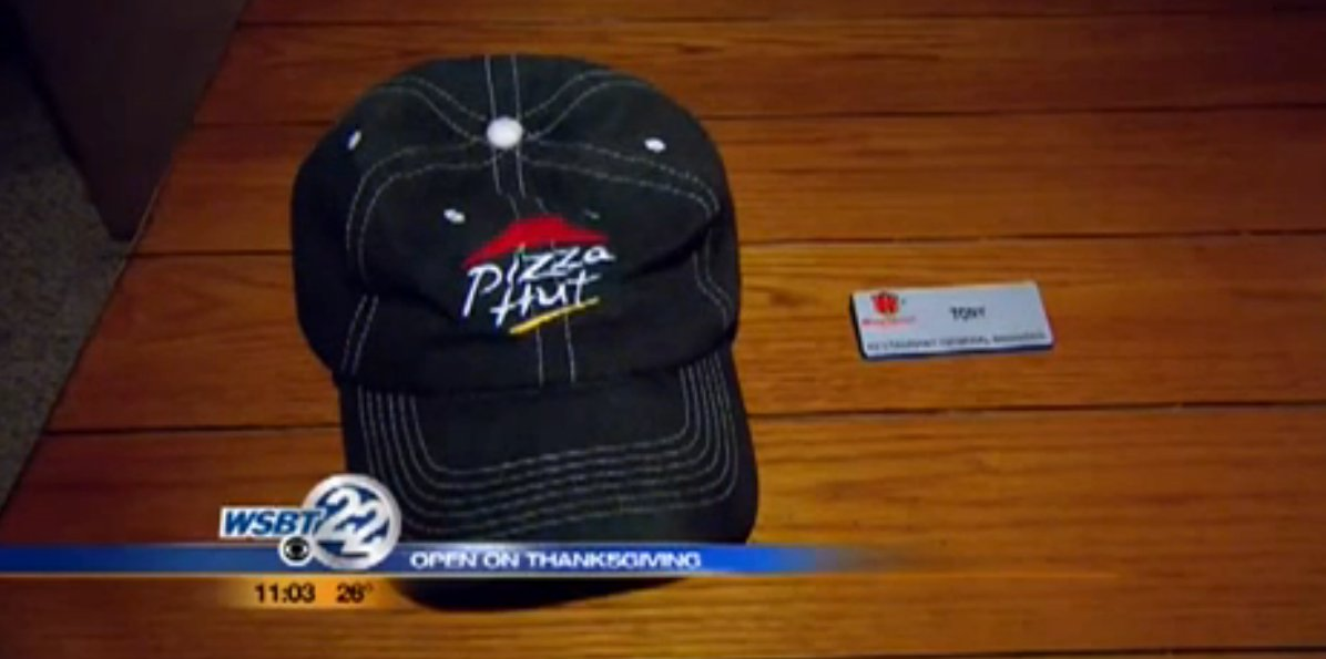 Pizza Hut Manager Walks Away From Job Rather Than Open On Thanksgiving