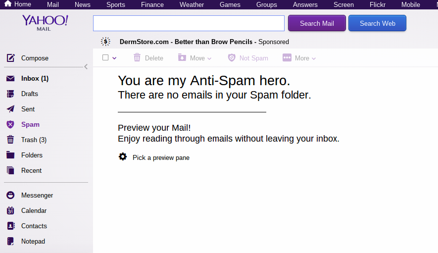 Even Yahoo Employees Want Nothing To Do With Yahoo Mail – Consumerist