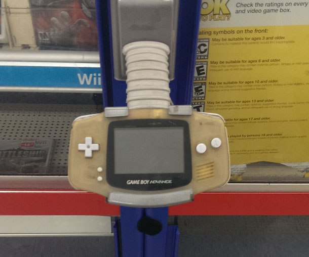 Raiders Of The Lost Kmart Not Sure What Color This Game Boy Advance