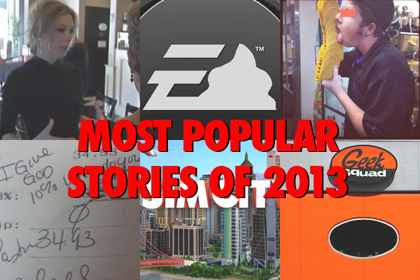 Consumerist's Most Popular Stories From 2013