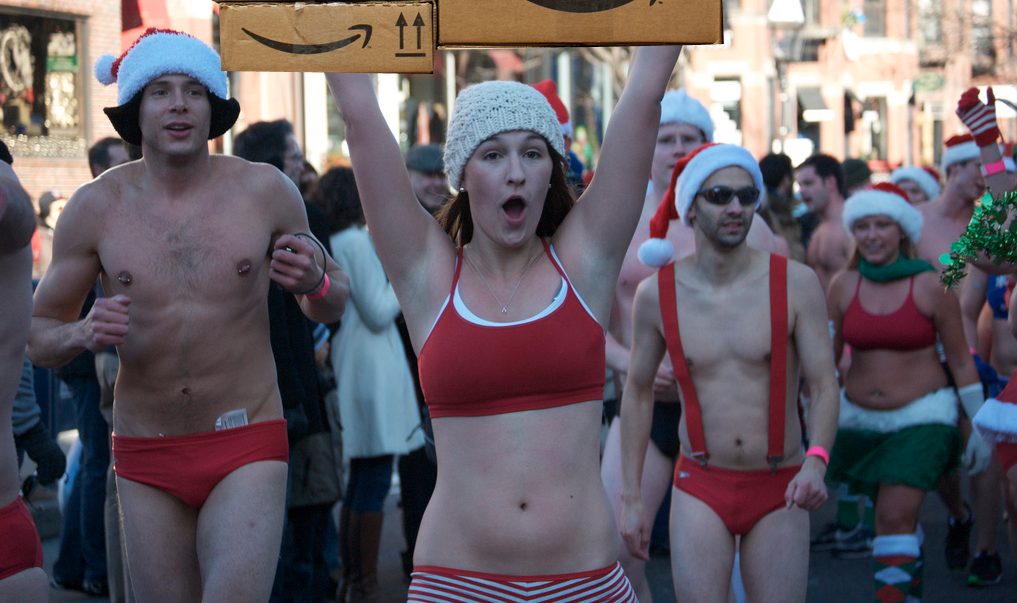 It'll be Christmas all year round when Amazon takes over the North Pole operations from Saint Nick. (Photo: Jaime Chapoy)