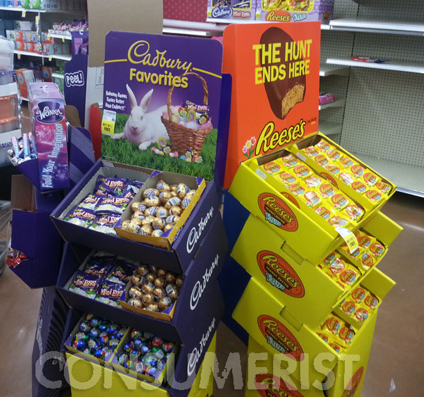 Up And At 'Em, Easter Bunny: Chocolate Eggs Hit Shelves