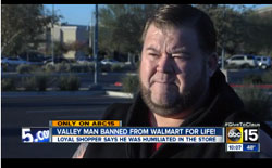 Why Is This Man Banned From Walmart For Life?