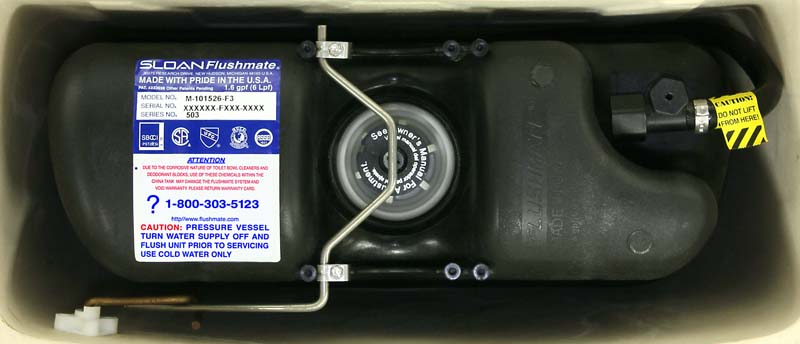 Flushmate III Toilet System Recalled Because Toilet Explosions Are Very Bad