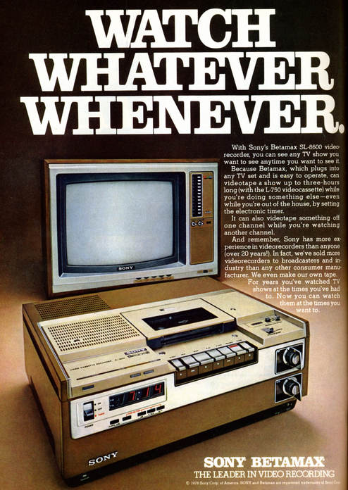 On This Day In 1984, The Supreme Court Saved The VCR From Certain Death