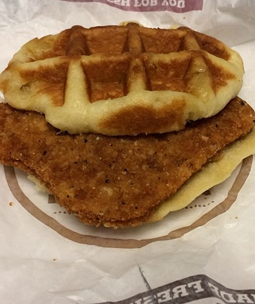 Yes, Burger King Is Now Testing A Chicken & Waffles Sandwich