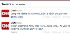 Hacker Group Briefly Takes Over Some Of CNN's Social Media Accounts