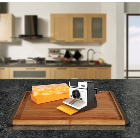 Make Everyone Smile With Instant Camera Cheese Slicer