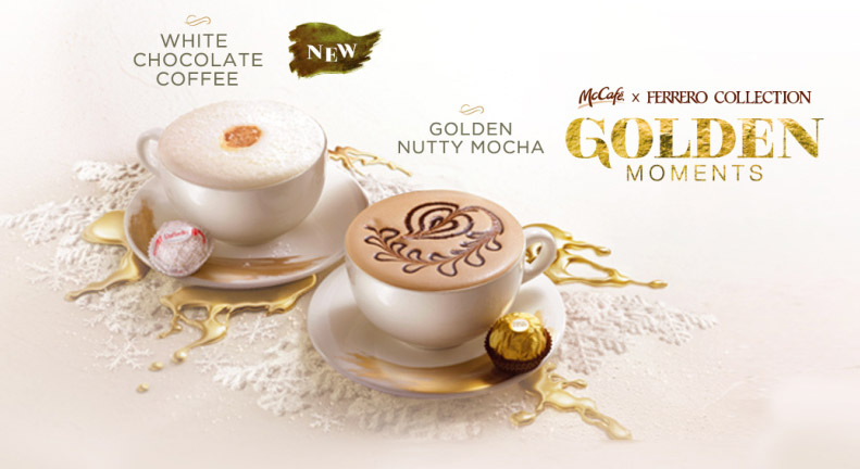 McDonald's And Ferrero Offer Fancy McCafe Drinks And Cakes In Hong Kong