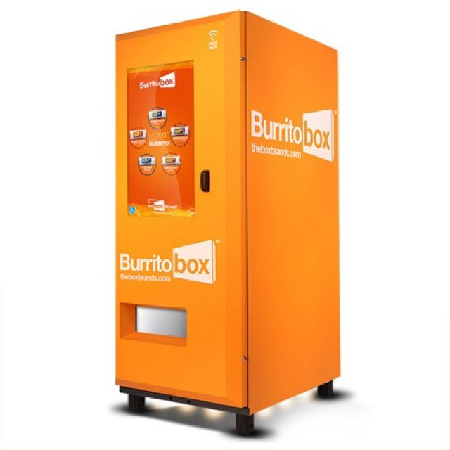 Behold, The Hot Burrito Vending Machine Is Here