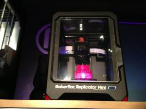 The new Replicator Mini from MakerBot.