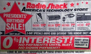 The Smartphone Has Effectively Replaced All The Technology Offered In This 1991 Radio Shack Ad