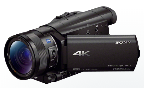 The smaller, still kind of expensive, 4K Handycam.