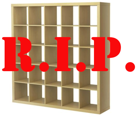 IKEA To Record Collectors: Don't Freak Out About The Death Of Expedit Shelves