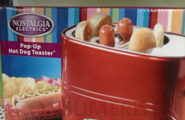 Behold The Pop-Up Electric Hot Dog And Bun Toaster