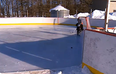 Farmer Makes His Own 'Field Of Dreams', Plops $20K Ice Skating Rink In The Middle Of His Land