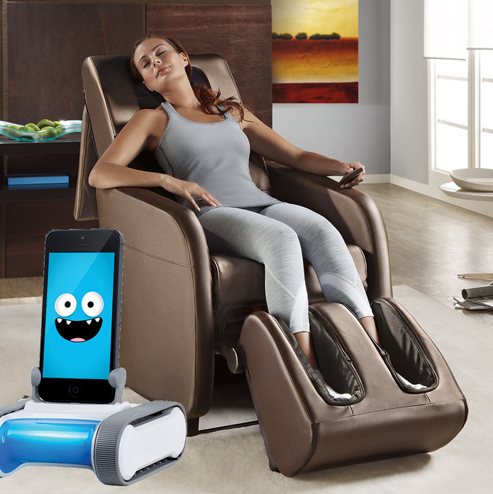 If everyone's home was more like this, maybe Brookstone wouldn't be thinking about bankruptcy...