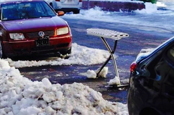 """Saving"" A Shoveled-Out Parking Spot: Your Hard-Earned Right Or A Jerk Move?"