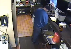Pizza Hut Closes Down After Video Shows District Manager Using The Kitchen Sink As A Urinal