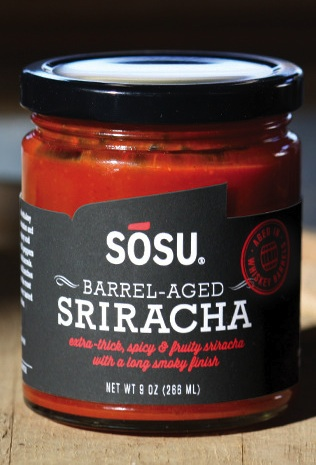 There Is Now Sriracha Aged In Whiskey Barrels Because OMG, Sriracha