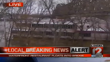 Waterfront Restaurant Takes Off Down Waterway