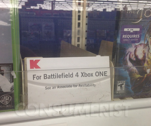 "Get Your Copies Of ""Battilefield 4"" And ""Assassins's Creed IV"" At Kmart While They Last"