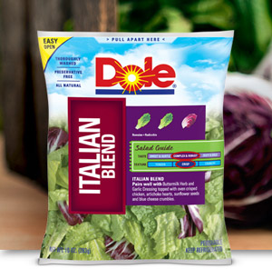 Dole Recalls Italian Salad Mix Due To Possible Listeria Contamination
