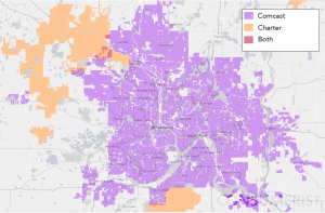 Broadband competition (or specifically, its absence) in the Twin Cities.