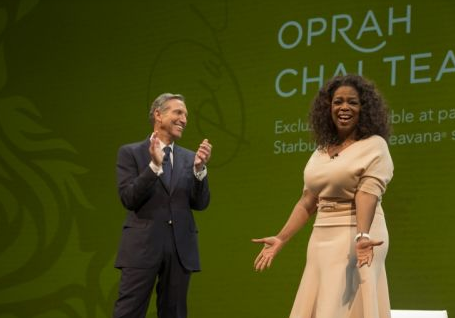 Oprah made a specialty tea just for Starbucks and Teavana. (Starbucks)