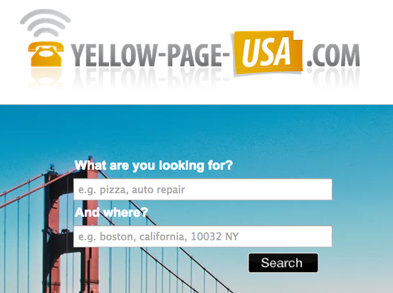 """How Giving Your Contact Info To """"Yellow Page USA"""" Turns Into"""