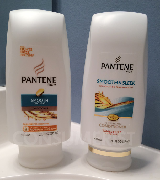 Pantene Changes Anti-Frizz Rhetoric, Removes 1.7 Ounces From Conditioner Bottle