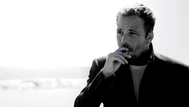 You might remember Steven Dorff from that e-cig ad he did once.