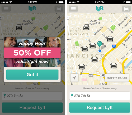 Innovations In Ride-Sharing: Lyft Introduces The Opposite Of Surge Pricing