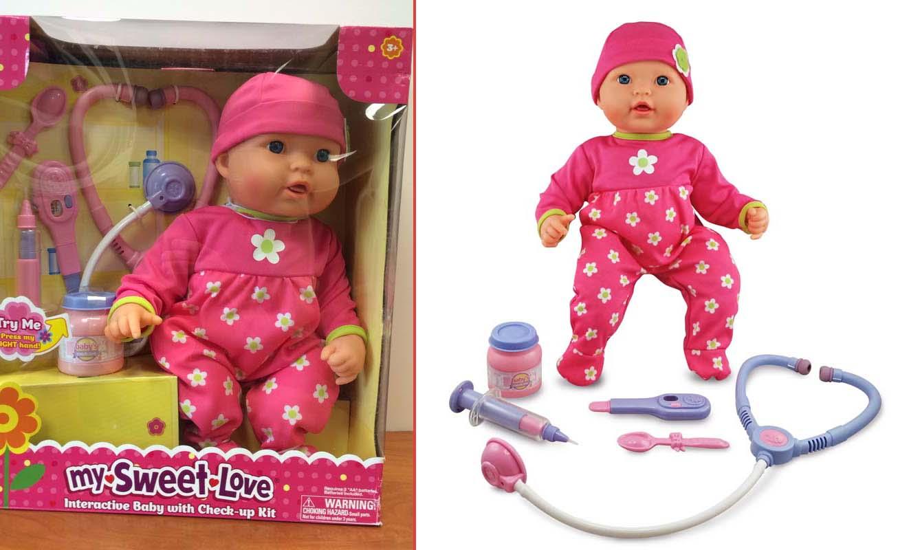 Walmart Recalls 174000 My Sweet Lovemy Sweet Baby Dolls Because