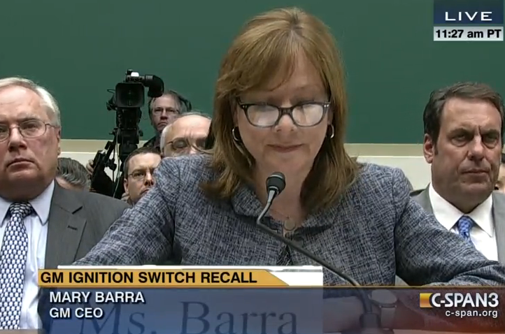 GM Admits Incompetence In Ignition Debacle, Denies Cover-Up