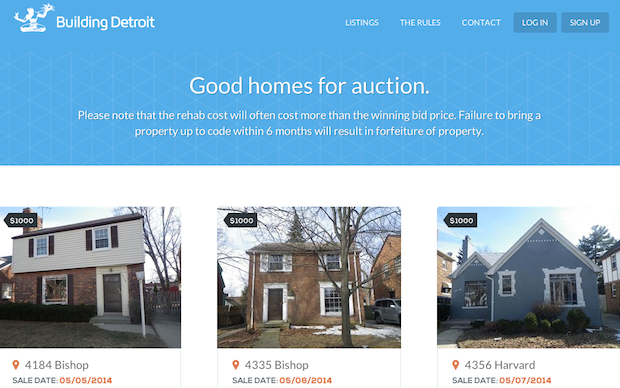 Detroit Selling Foreclosed Homes For 1000 In Citys Latest Attempt
