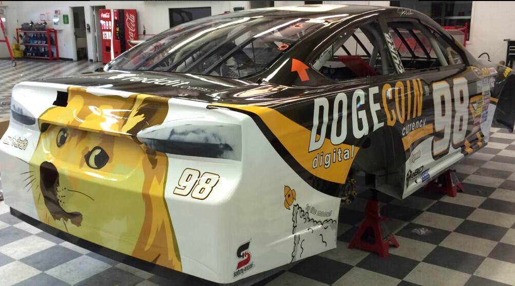 The Dogecoin Race Car Is A Reality And It Is Every Bit As Amazing As We'd Hoped