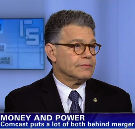 Franken: Media Companies Are Afraid To Speak Out Against Comcast