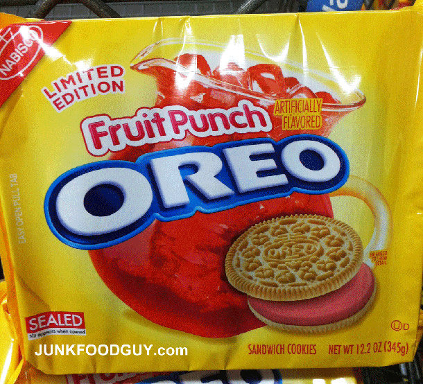 Fruit Punch Oreos Exist, Are Available At Walmart