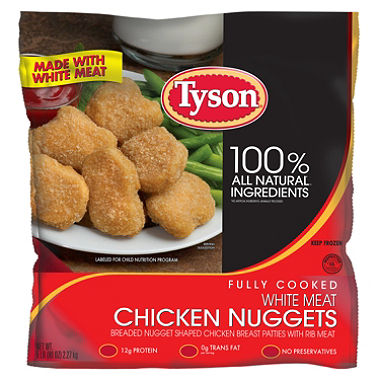 Tyson Foods Recalls 75000 Lbs Of Chicken Nuggets Because Eating