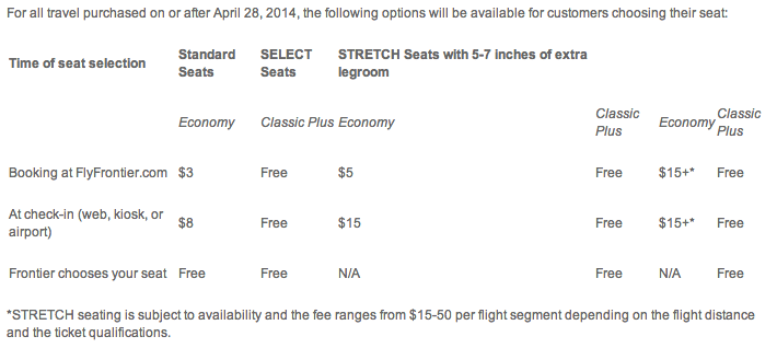 These seating options are available for customers beginning today.