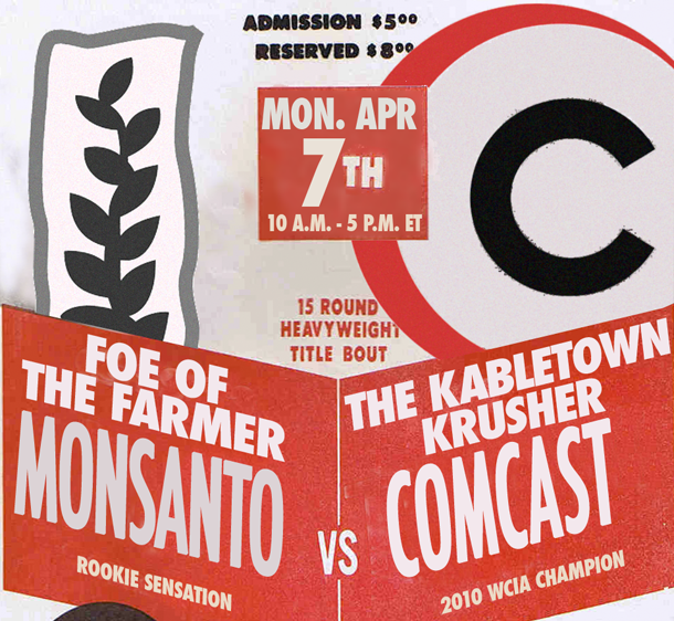 Comcast Or Monsanto: Who Will Win The Worst Company In America 2014 Final Death Match?
