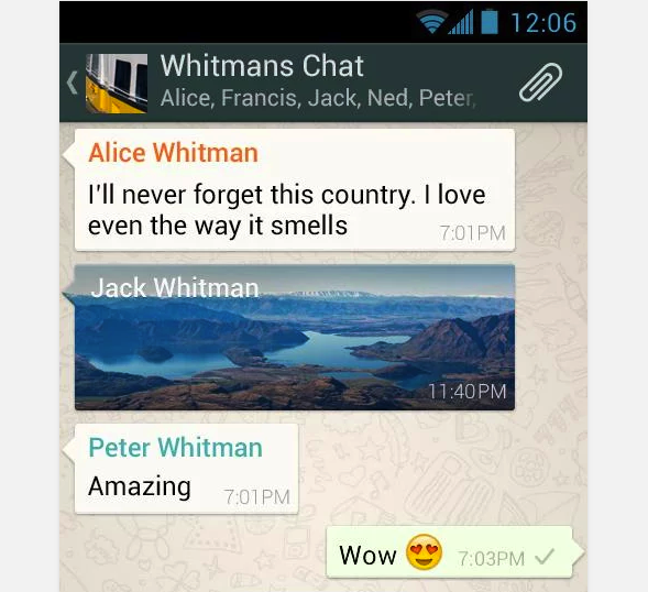 If you leave WhatsApp, think of all the brilliant, insightful chats you'll be missing out on.