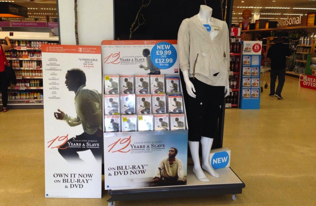 "Supermarket Display Shows How You Can Get That Chic Slave Look From ""12 Years A Slave"""