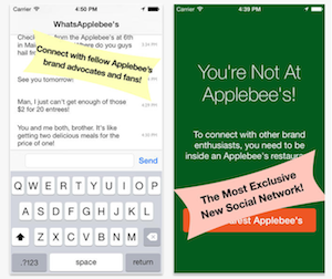 WhatsApplebee's Chat App Lets You Talk To Strangers — If They're Also At An Applebee's