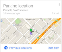 Can't Remember Where You Parked? Google's Here To Remind You